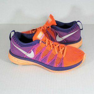 Nike Flyknit Lunar 2 Atomic Orange 620658 815 M615
